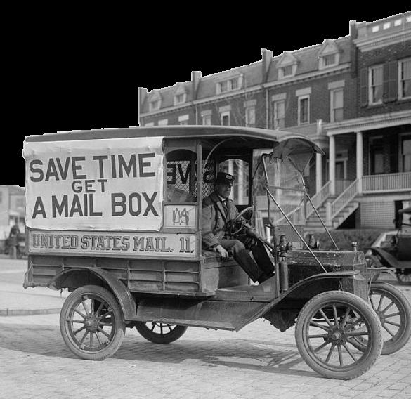 Altes Postensystem